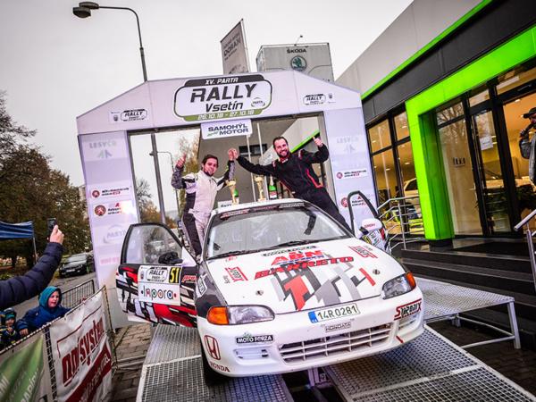 XV. Bonver Partr Rally Vsetín