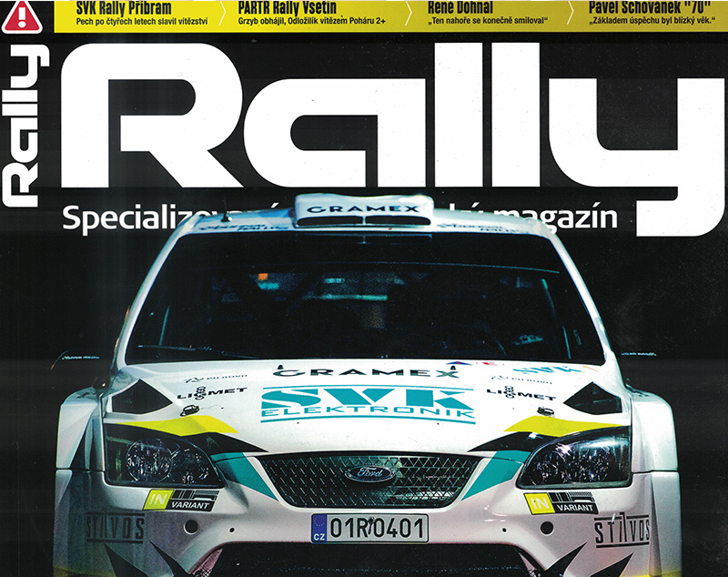 Tým Silponix Racing v RALLY MAGAZÍNU