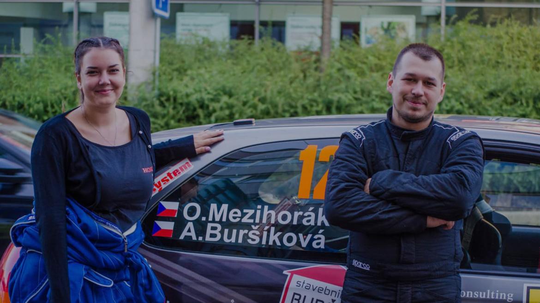 Ondřej Mezihorák a odchod navigátorky Adriany Buršíkové